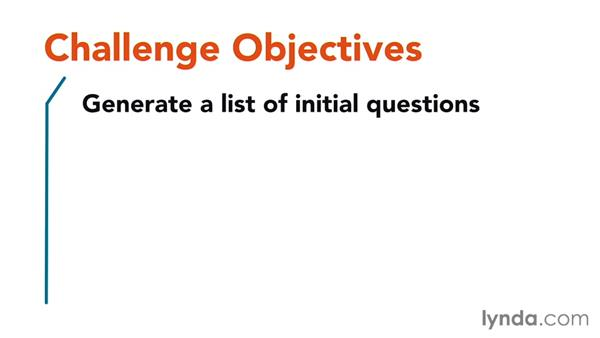 Challenge: Writing good interview questions: Foundations of Design Research