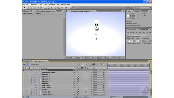 Creating a monster pt. 2: After Effects CS3: Animating Characters