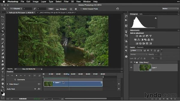 Adjusting frames rates in Photoshop: Pictures that Move: Creating Cinemagraphs with Photoshop, After Effects, Flixel, and Cliplets