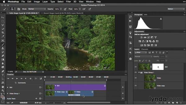 Looping strategies with Photoshop: Pictures that Move: Creating Cinemagraphs with Photoshop, After Effects, Flixel, and Cliplets