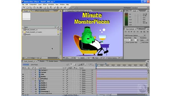 The basics of lip syncing: After Effects CS3: Animating Characters