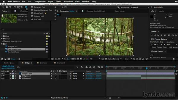 Creating and refining masks in After Effects: Part two: Pictures that Move: Creating Cinemagraphs with Photoshop, After Effects, Flixel, and Cliplets