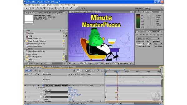 Animating the head and body: After Effects CS3: Animating Characters