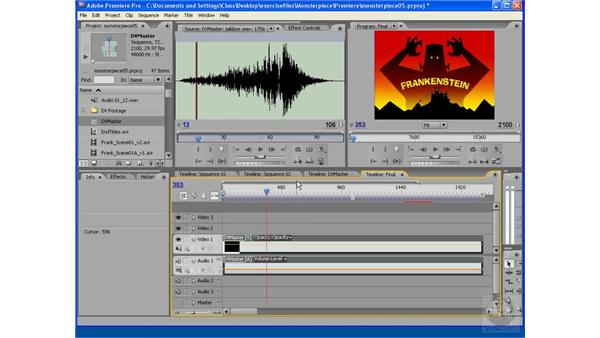 Final output and audio: After Effects CS3: Animating Characters
