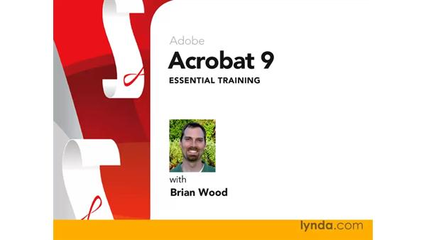 Welcome: Acrobat 9 Pro Essential Training