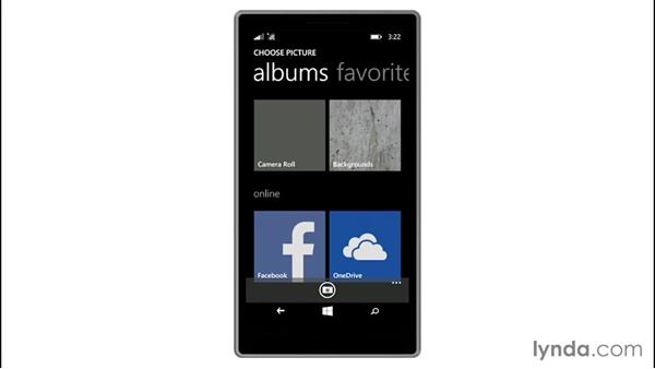 Personalizing your theme and display: Up and Running with Windows 8.1 Phones