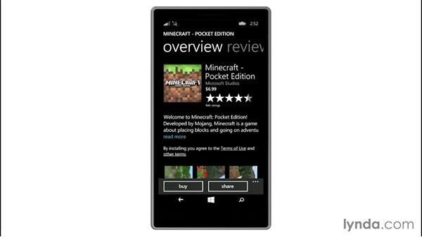 Exploring the Windows Phone Store: Up and Running with Windows 8.1 Phones
