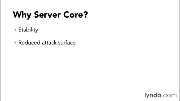 Understanding the benefits of Server Core: Up and Running with Server Core for Windows Server 2012 R2