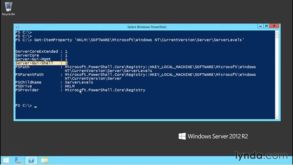 Exploring versions and upgrade options: Up and Running with Server Core for Windows Server 2012 R2