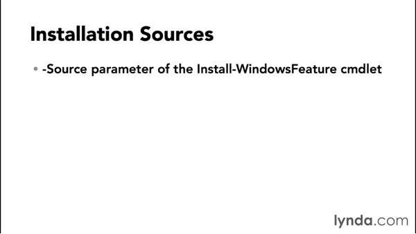 Understanding features on demand: Up and Running with Server Core for Windows Server 2012 R2