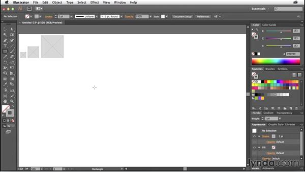 Creating common UI placeholders: Illustrator CC for Web Design: Wireframing