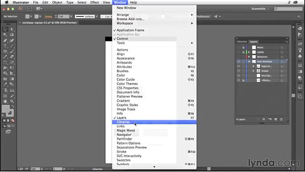 Versioning your projects: Illustrator CC for Web Design: Wireframing