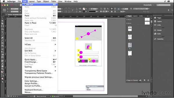 Presenting your wireframes to clients: Illustrator CC for Web Design: Wireframing