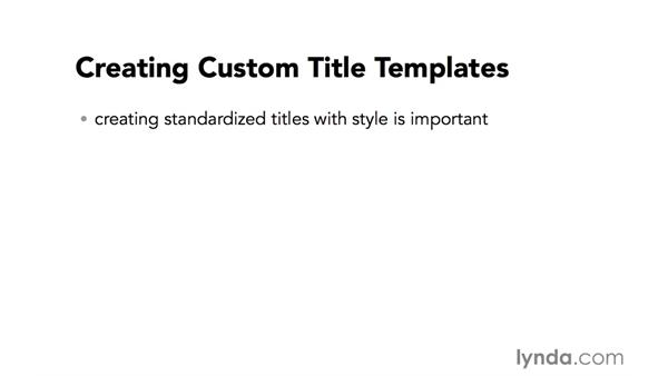 Introduction to title template creation: Video Post Tips Weekly