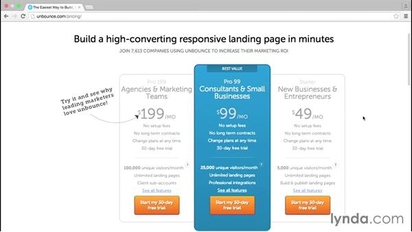Using Unbounce to build and A/B test landing pages: Marketing Tips