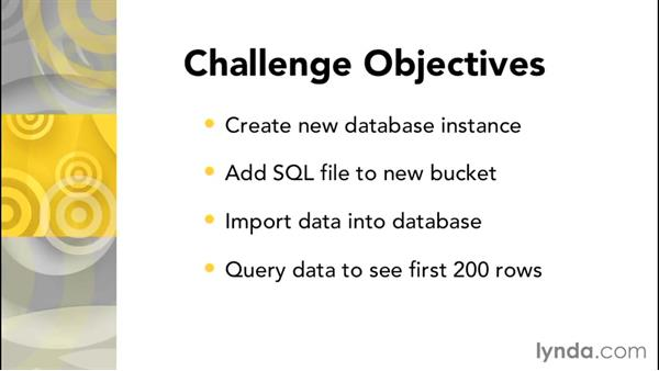 Working with challenges: Google Cloud Storage and Data Essential Training