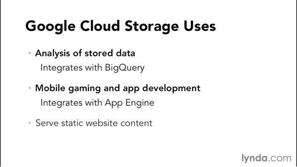 Overview of Google Cloud Storage: Google Cloud Storage and Data Essential Training