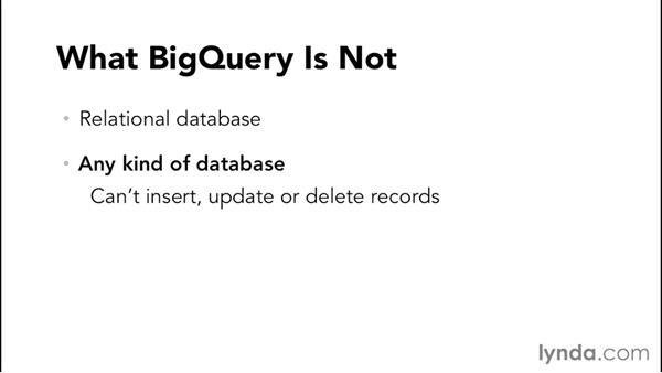 Understanding BigQuery: Google Cloud Storage and Data Essential Training