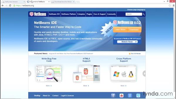 Downloading the Java IDE (NetBeans): Up and Running with Java