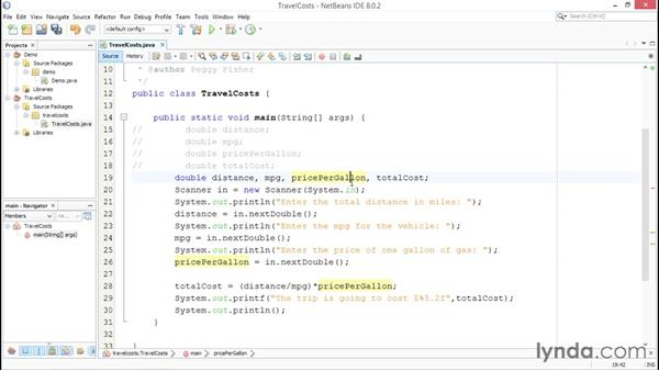 Anatomy of a Java program: Up and Running with Java