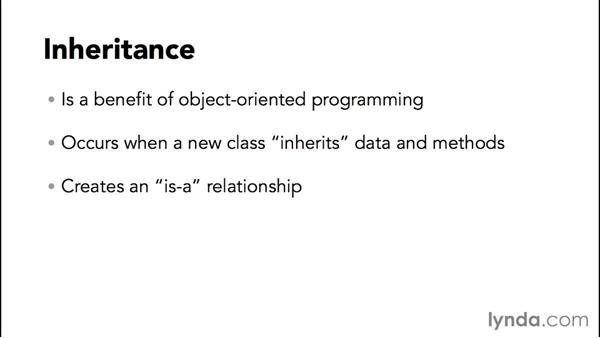 Understanding inheritance: Up and Running with Java