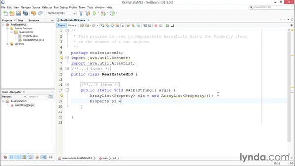Using ArrayLists: Up and Running with Java
