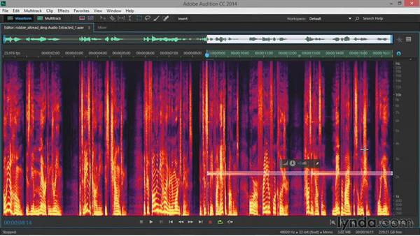Healing audio: Premiere Pro Guru: Audio Finishing Techniques