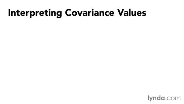 Visualizing what covariance means: Data-Analysis Fundamentals with Excel