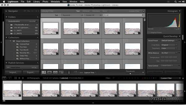 Organizing images in Lightroom: Creating Time-Lapse Movies with Lightroom and LRTimelapse