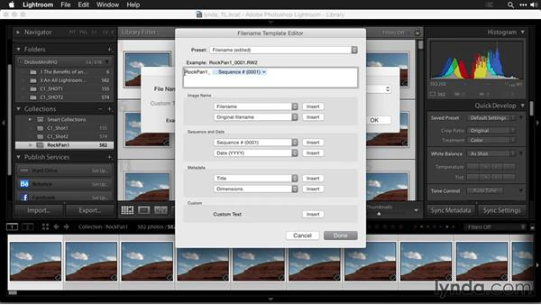Renaming image sequences: Creating Time-Lapse Movies with Lightroom and LRTimelapse