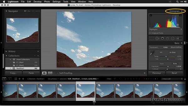 Correcting exposure: Creating Time-Lapse Movies with Lightroom and LRTimelapse