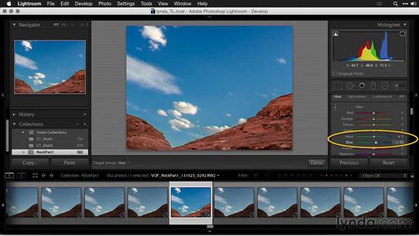 Correcting color: Creating Time-Lapse Movies with Lightroom and LRTimelapse