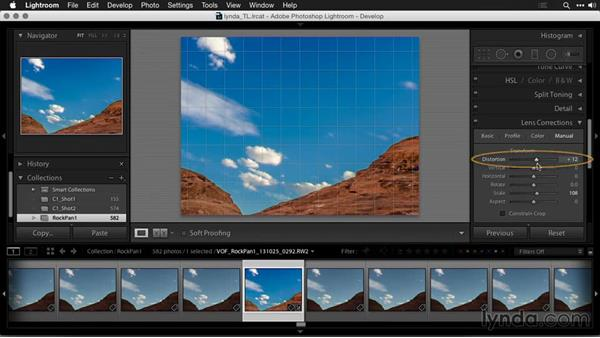 Correcting distortion: Creating Time-Lapse Movies with Lightroom and LRTimelapse