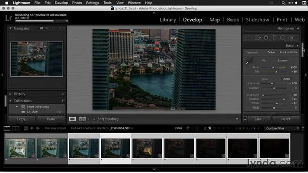 Processing a day-to-night time-lapse sequence in Lightroom: Creating Time-Lapse Movies with Lightroom and LRTimelapse
