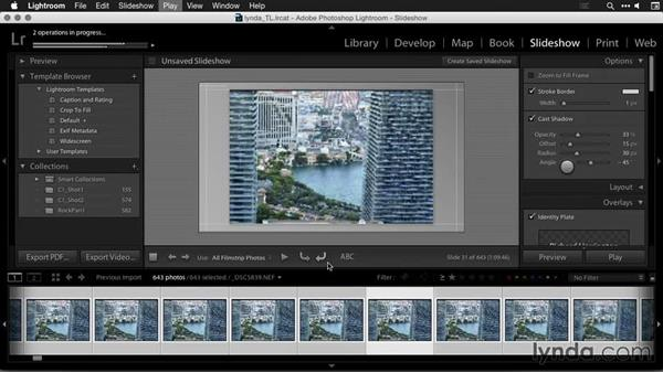 Refining and exporting the day-to-night time-lapse sequence: Creating Time-Lapse Movies with Lightroom and LRTimelapse