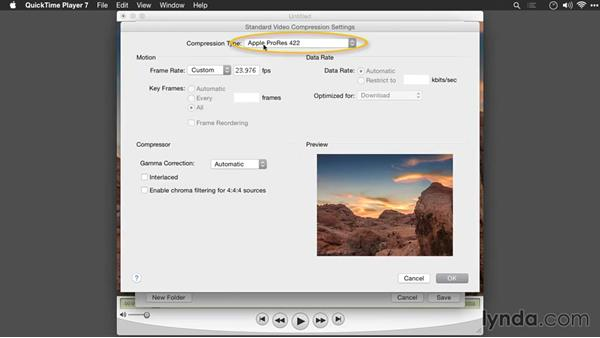 Assembling a time-lapse sequence with QuickTime Pro: Creating Time-Lapse Movies with Lightroom and LRTimelapse