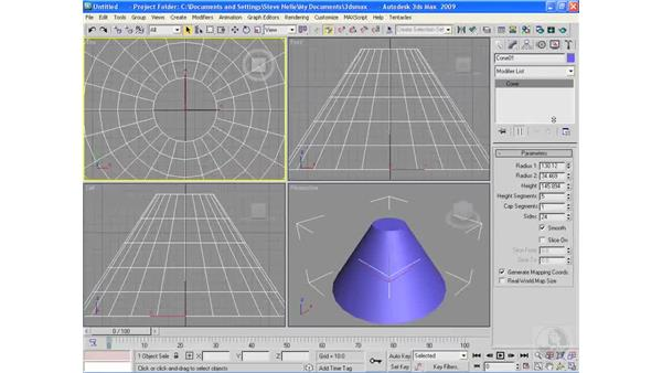Right-click features: 3ds Max 2009 Essential Training