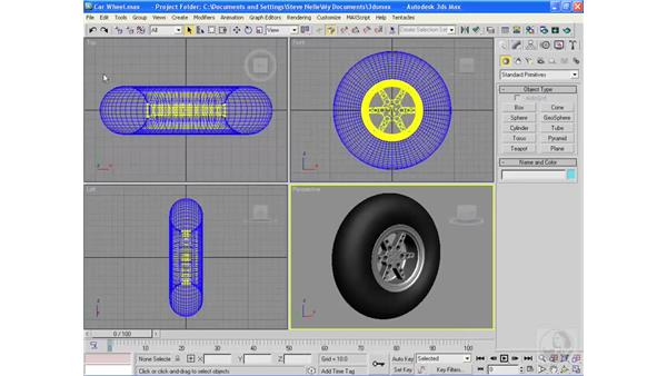 Importing and opening files: 3ds Max 2009 Essential Training