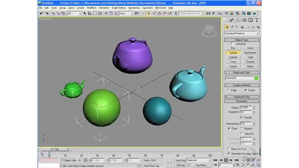 Holding and Fetching: 3ds Max 2009 Essential Training
