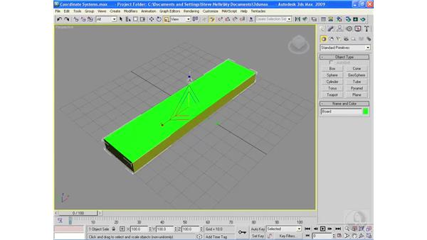 Understanding coordinate systems: 3ds Max 2009 Essential Training