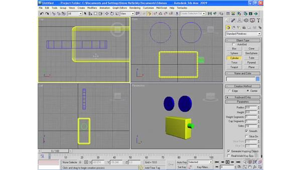 Project: Creating a video camera: 3ds Max 2009 Essential Training