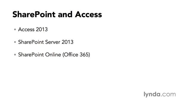 Software needed for this course: Creating Access Web Apps in SharePoint 2013