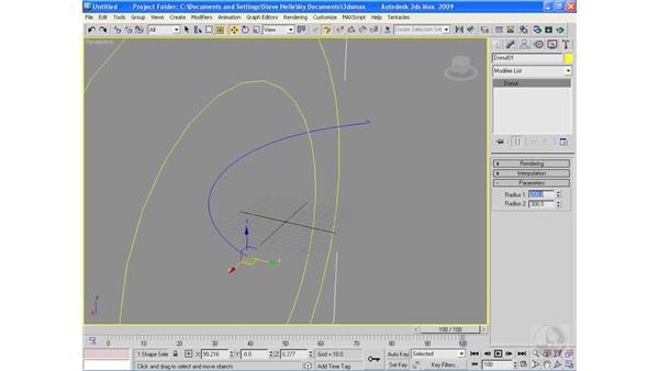 Common lofting errors: 3ds Max 2009 Essential Training