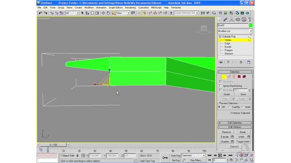 Building a plane with box modeling: 3ds Max 2009 Essential Training
