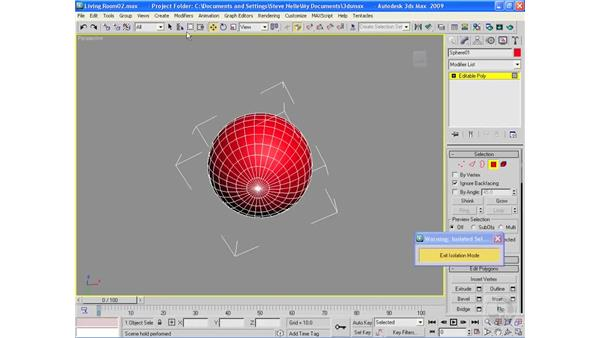 Building a lamp with a shade: 3ds Max 2009 Essential Training