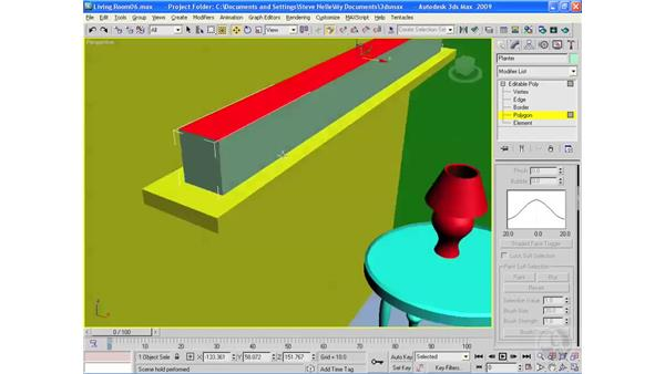 Adding plants: 3ds Max 2009 Essential Training