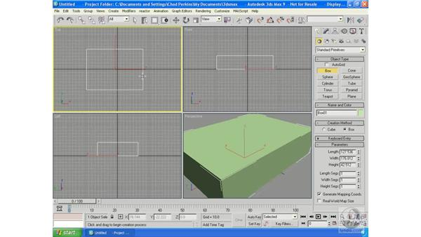 Converting vs. using a modifier: 3ds Max 2009 Essential Training