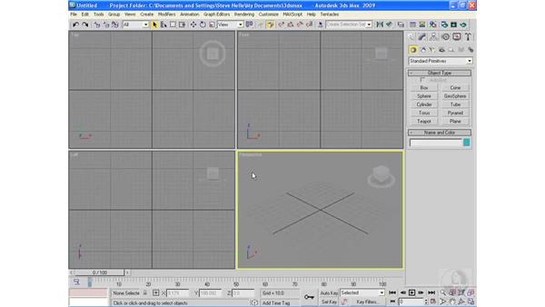 Sub-object transformations: 3ds Max 2009 Essential Training