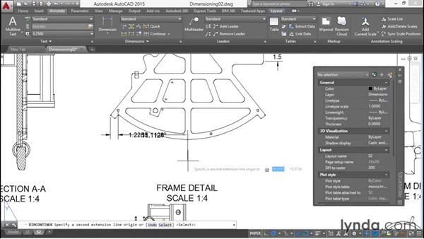 Welcome: Working with Dimensions in AutoCAD