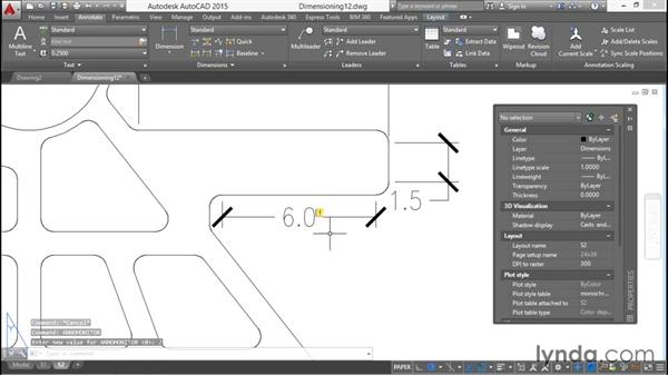 Exploding, monitoring, and reassociating dimensions: Working with Dimensions in AutoCAD
